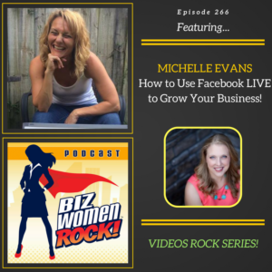 michelle evans - how to use facebook live for your business