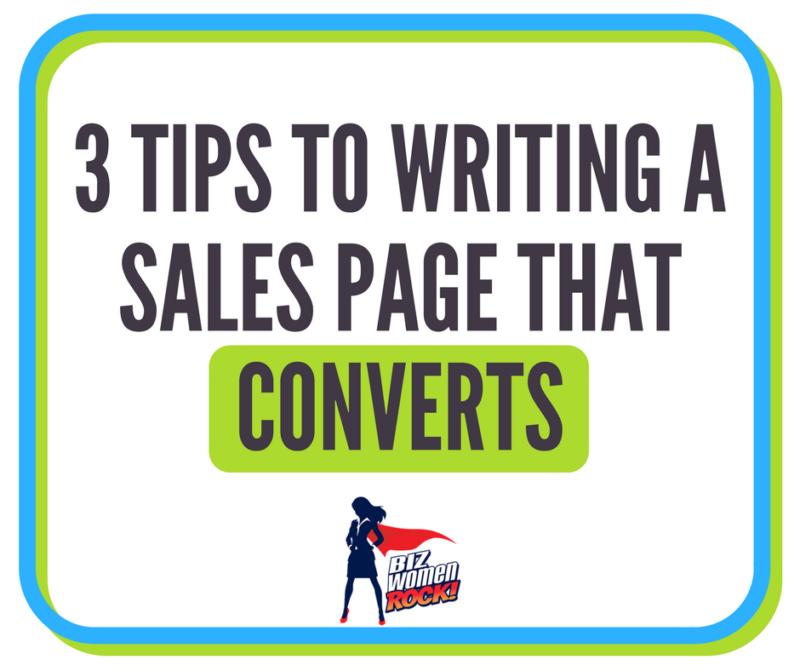 sales page conversion