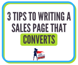 sales page conversion