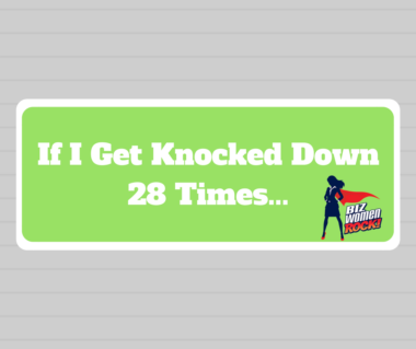 If I Get Knocked Down 28 Times...