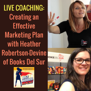 Live Coaching - Heather Robertson-Devine